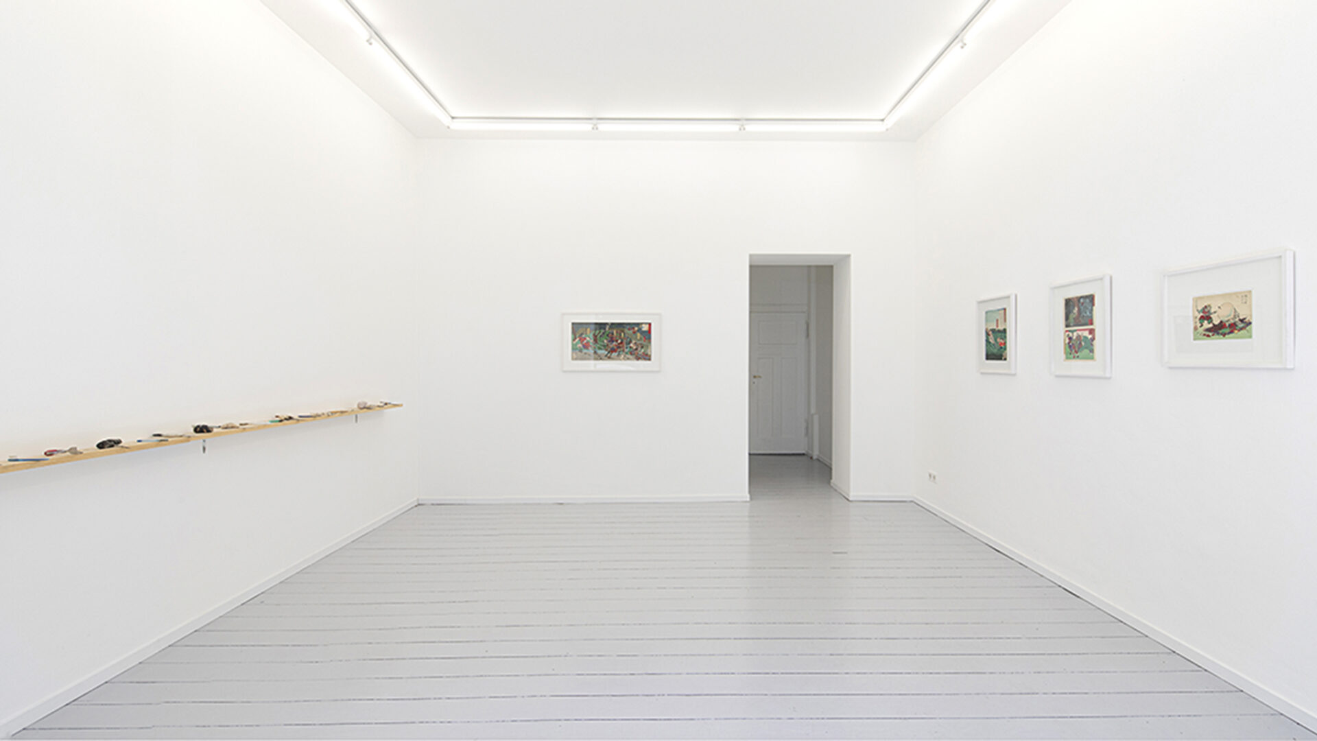 Lee nevo_Yoshitoshi Tsukioka_contemporary sculptur_japanese woodcut prints_basedonart gallery