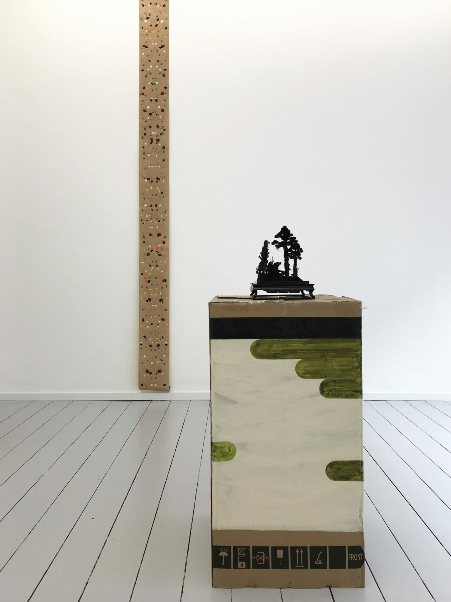 THE | Diorama on cardboard | Rohrschach game 1 | 2019