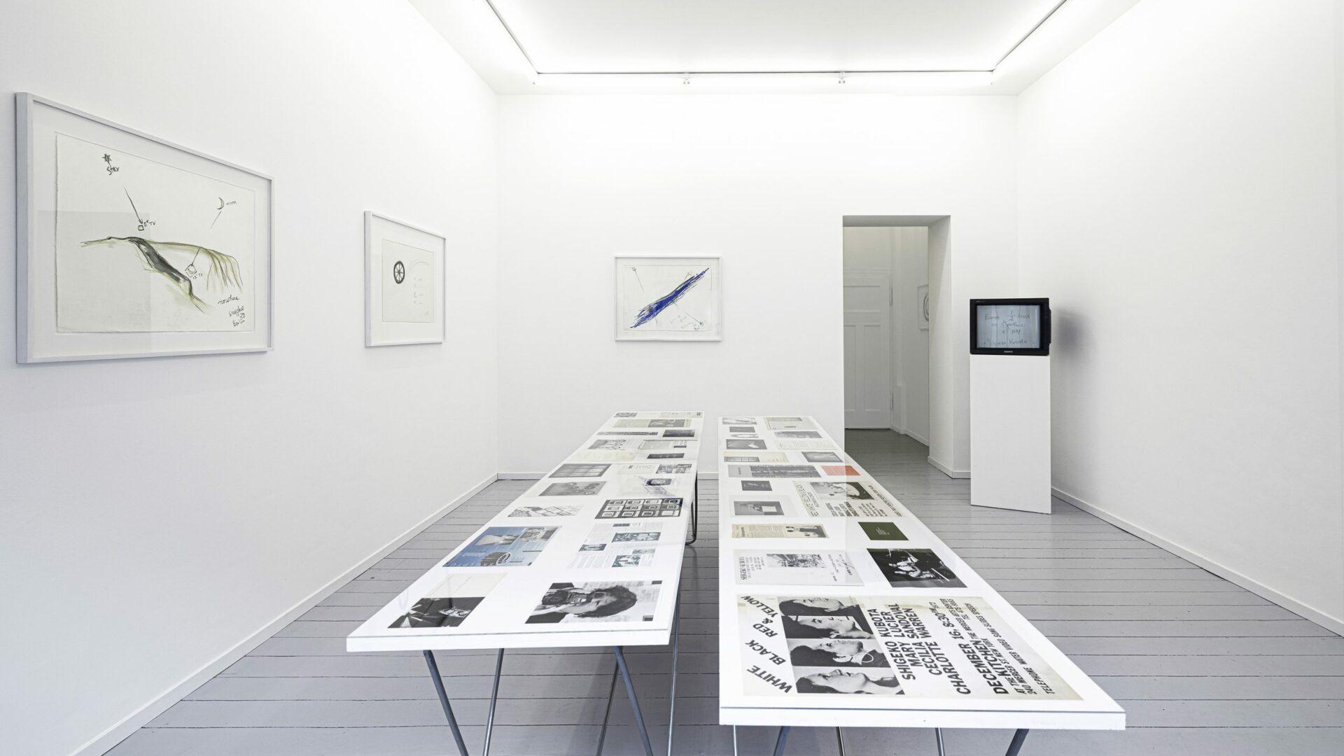 Shigeko Kubota | a woman artist,her life, exhibiton basedonart gallery düsseldorf