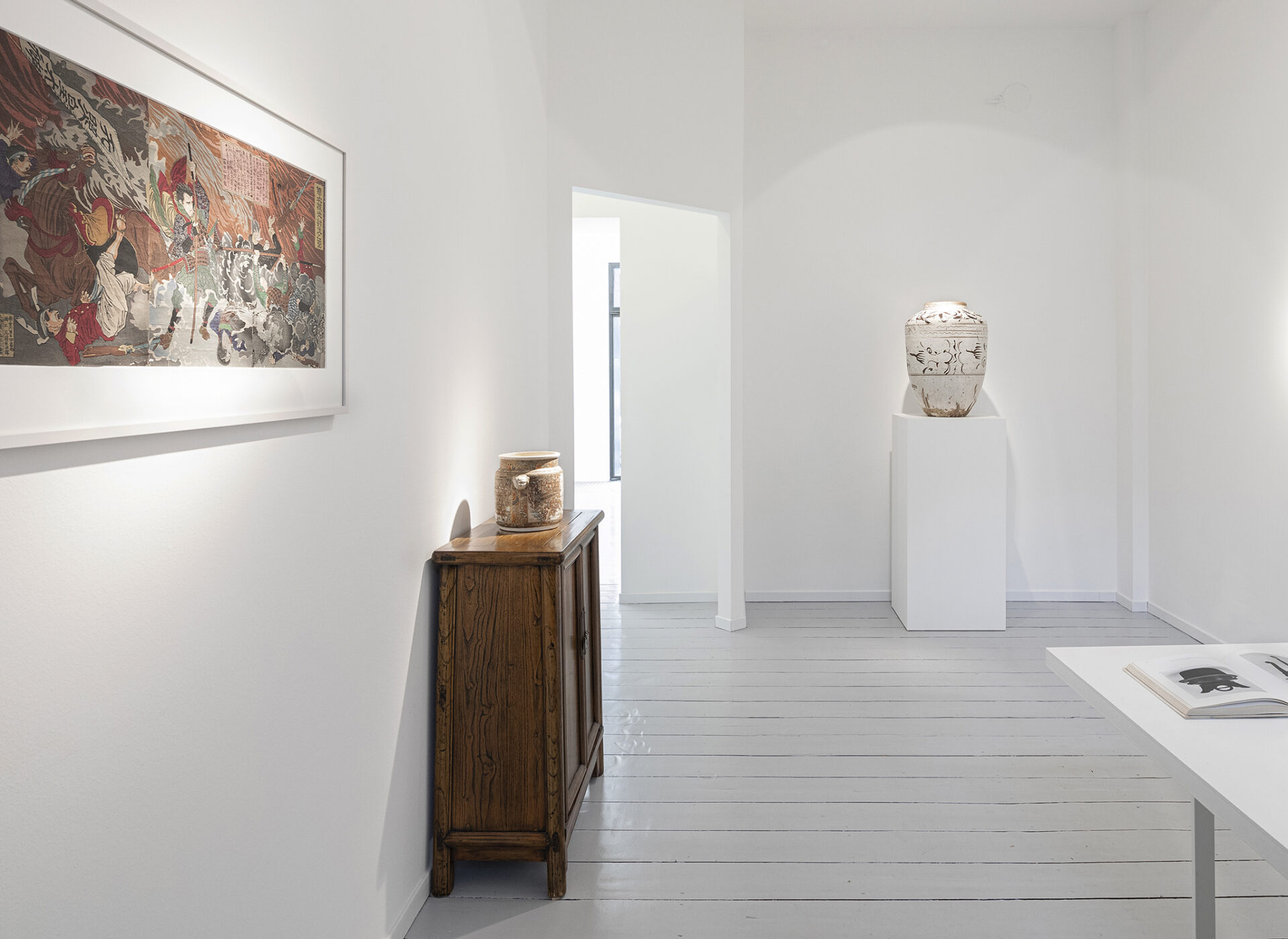 Thing Power, Tsukioka Yoshitoshi, Satsuma, Ming ceramic,basedonart gallery