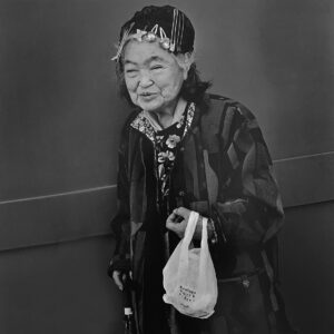 © Hiroh Kikai_Persona_An old lady who said she had lost her husband and close her kimono store, 2007_basedonart gallery