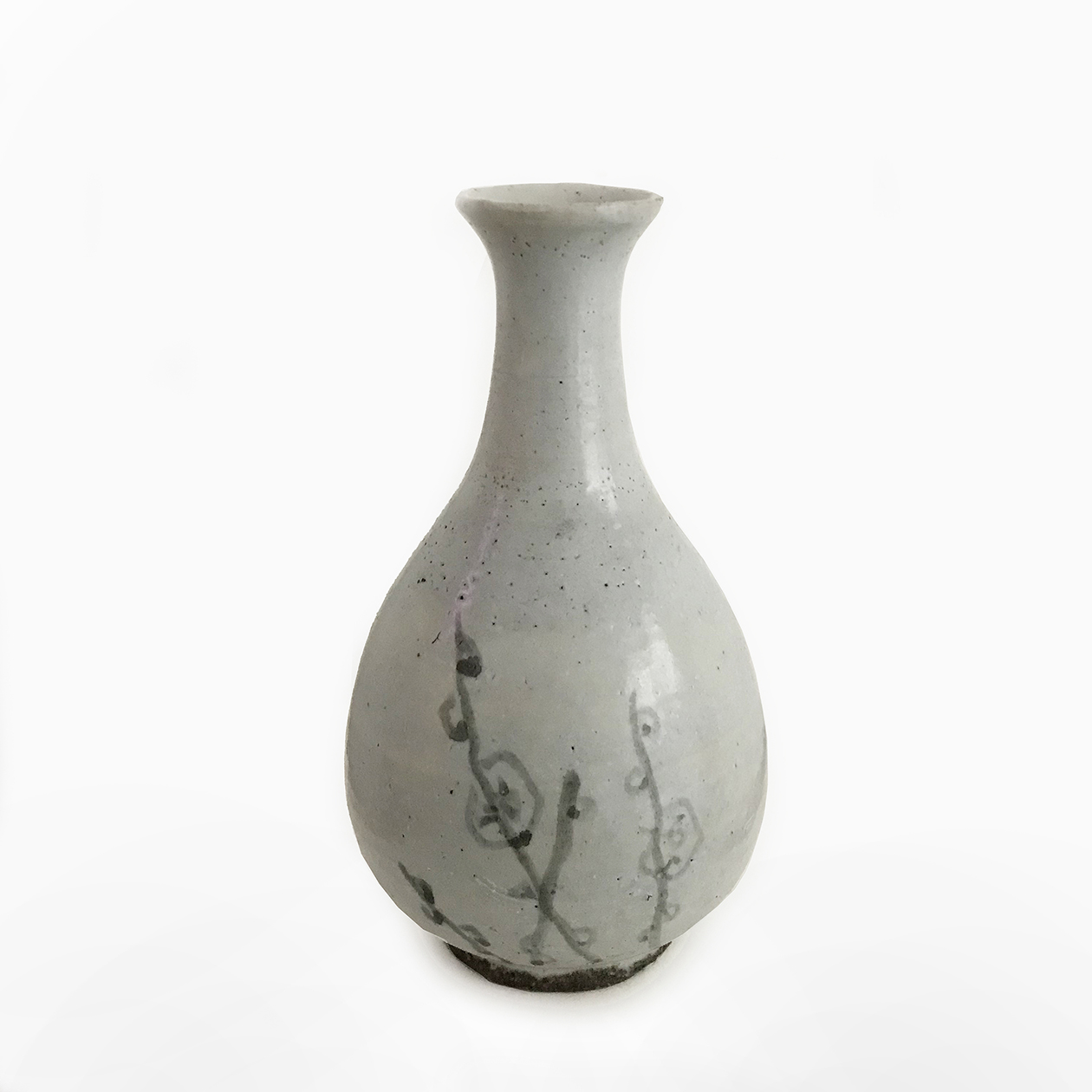 Bottle Vase_ceramic_ Joseon Dynasty_Korea_basedonart gallery