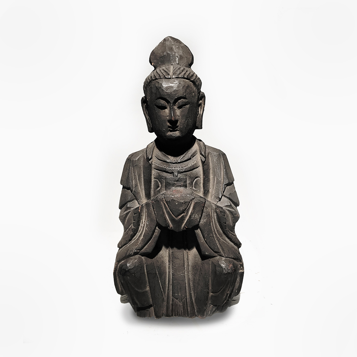 Buddha_wood_18/19th_Japan_basedonart gallery