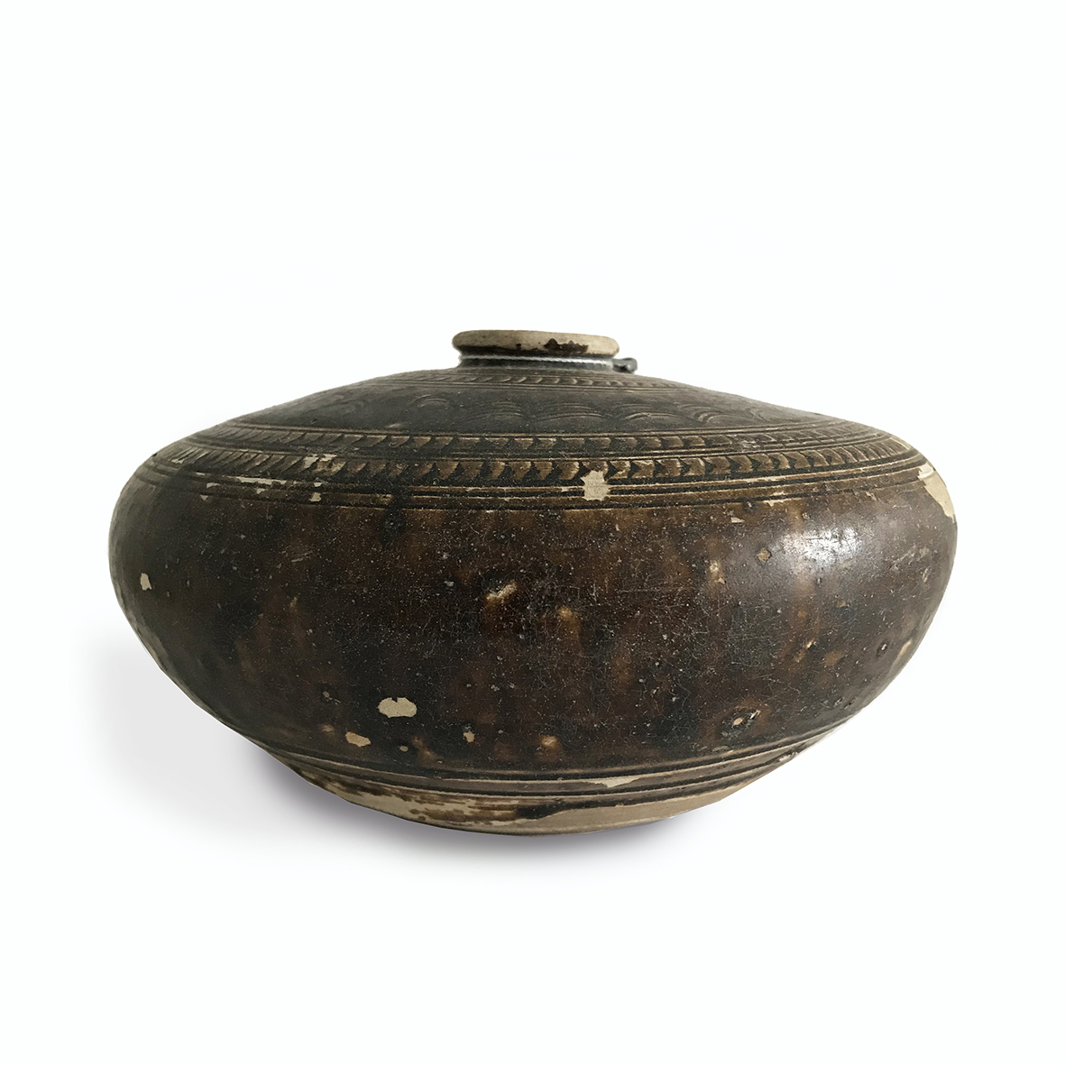 Khmer jar_ceramic_bayon period_Cambodia_basedonart gallery