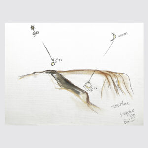 Shigeko Kubota | Nowhere | Drawing | Pastels, pencil on paper | 1980 | basedonart gallery