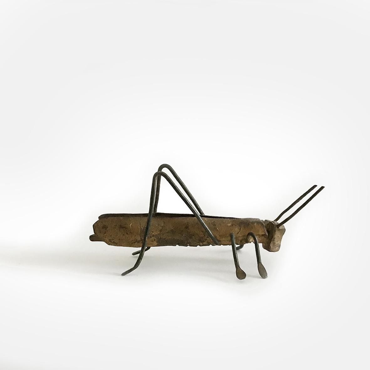 Grasshopper | bronze | Japan | basedonart gallery