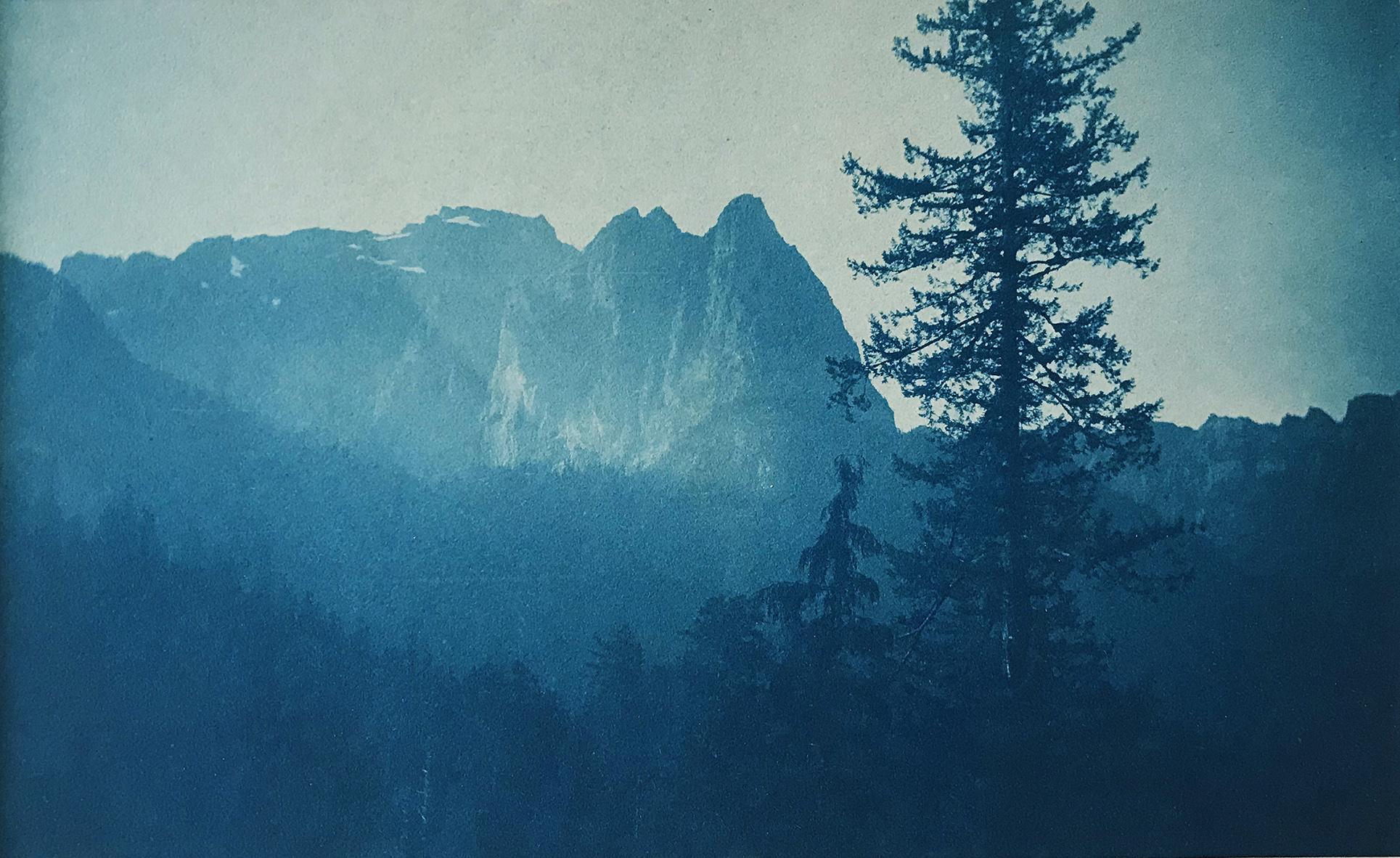 Anonym | Mount Index - Washington | 1906 | Cyanotype
