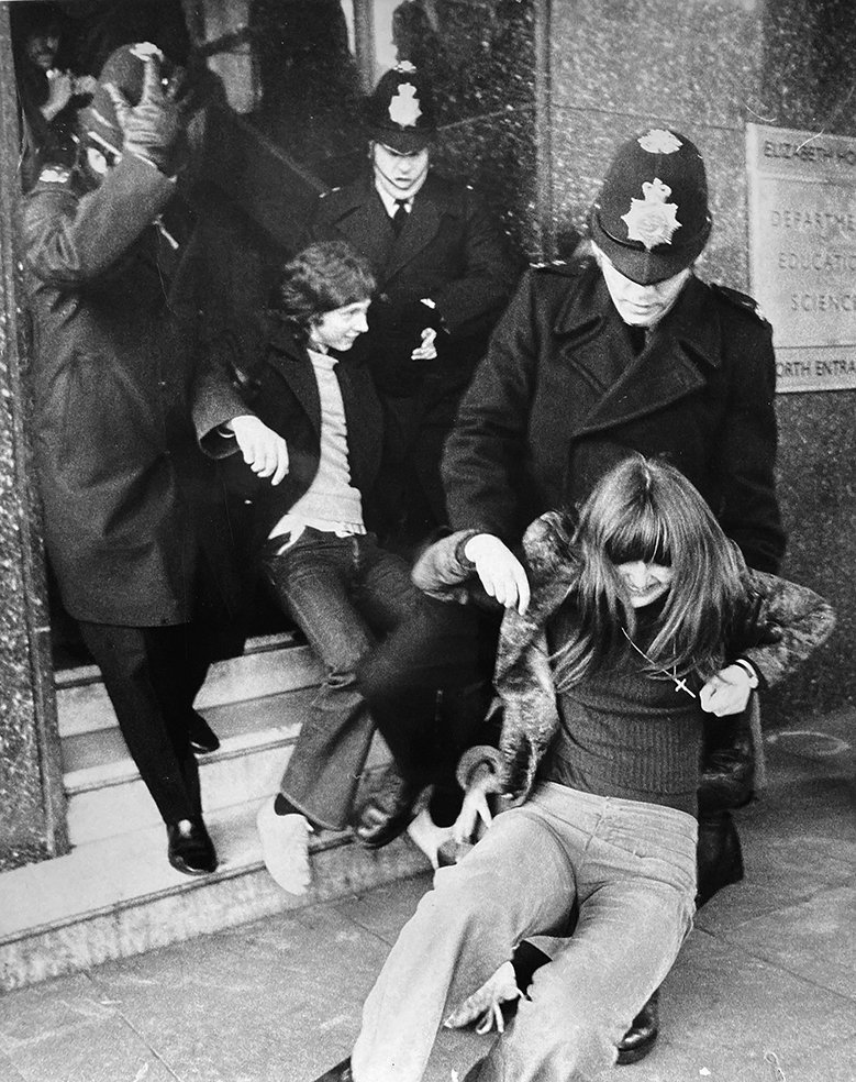 Student protest | anonymephotography | London | 1972